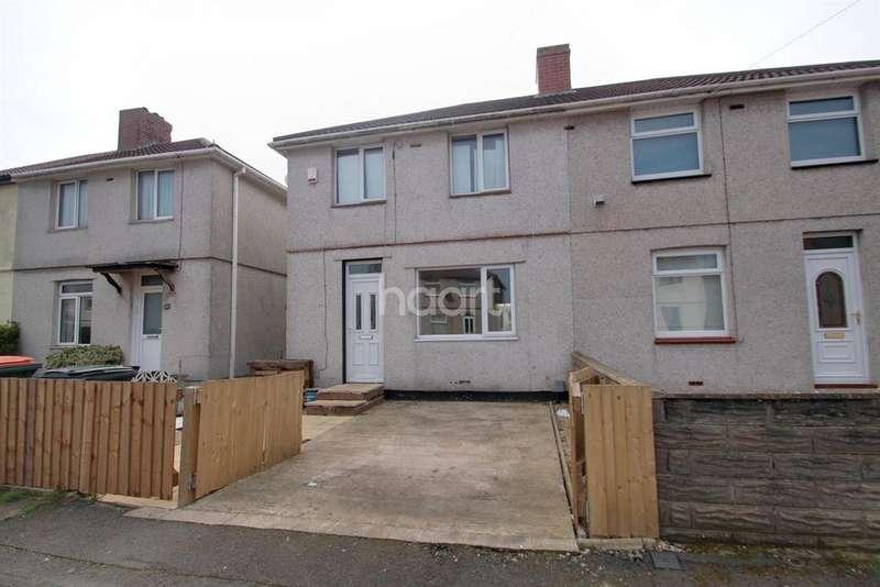 3 Bedrooms Semi Detached House for sale in Greenmeadow Avenue, Newport