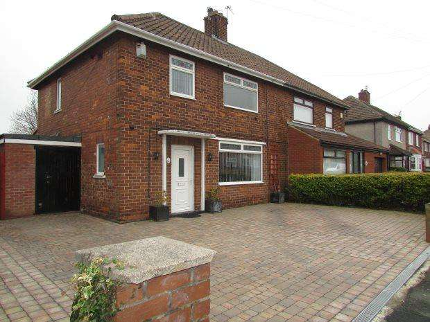 3 Bedrooms Semi Detached House for sale in KINGSLEY AVENUE, HARTLEPOOL, HARTLEPOOL