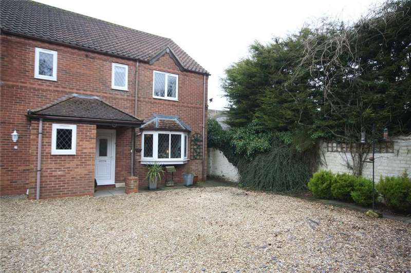 3 Bedrooms Semi Detached House for sale in Station Road, Ruskington, Sleaford, Lincolnshire, NG34