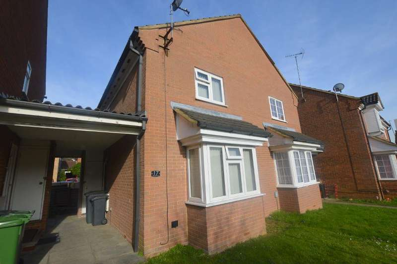 2 Bedrooms Cluster House for sale in Ellenhall Close, Luton, Bedfordshire, LU3 1XH