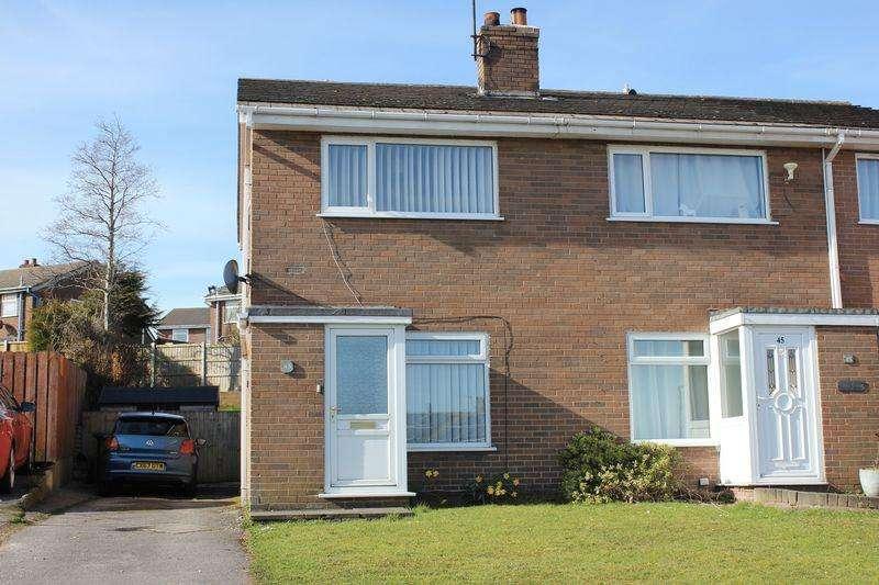 2 Bedrooms Semi Detached House for sale in Alltwen, Colwyn Bay