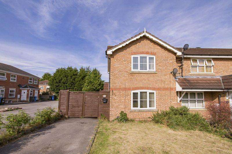 2 Bedrooms End Of Terrace House for sale in ROSEHEATH CLOSE, SUNNYHILL.
