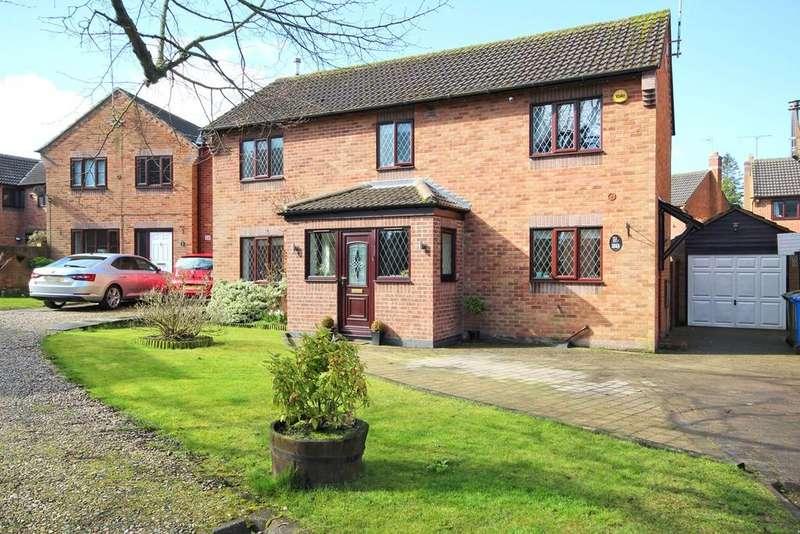 4 Bedrooms Detached House for sale in Lawson Close, Walkington, Beverley, HU17
