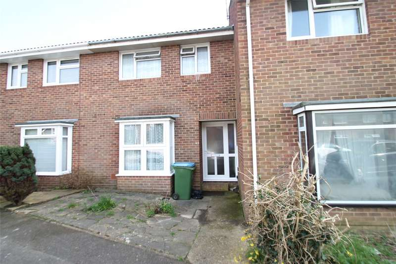 3 Bedrooms Terraced House for sale in Saxon Close, East Preston, West Sussex, BN16