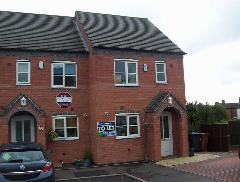 2 Bedrooms Semi Detached House for rent in Swans Rest, Newhall DE11