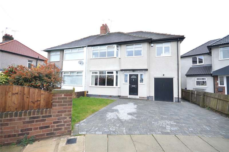 4 Bedrooms Semi Detached House for sale in Marion Grove, Calderstones, Liverpool, L18