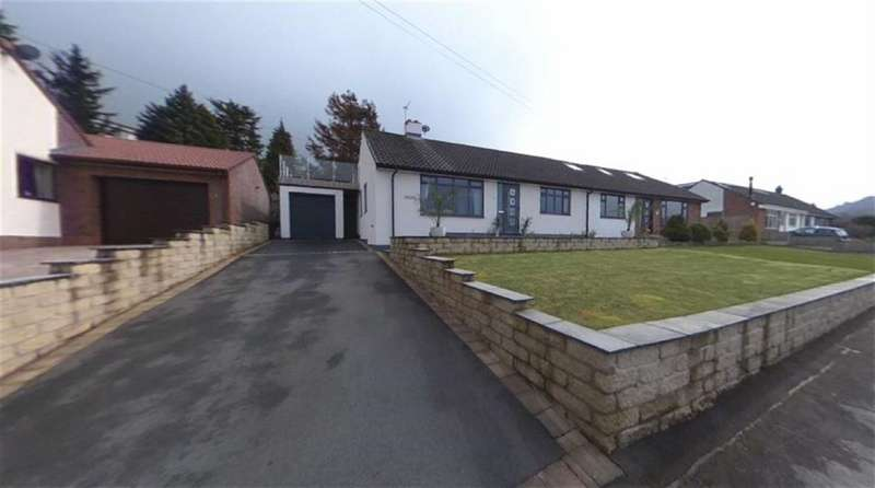 2 Bedrooms Semi Detached Bungalow for sale in Fern Crescent, Stalybridge