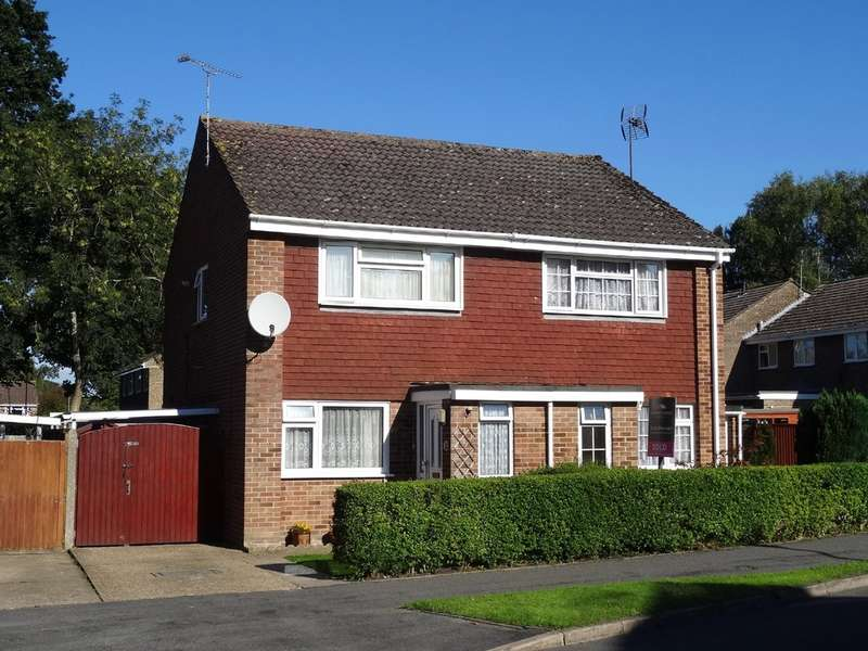 2 Bedrooms Semi Detached House for sale in Cambria Drive, Dibden