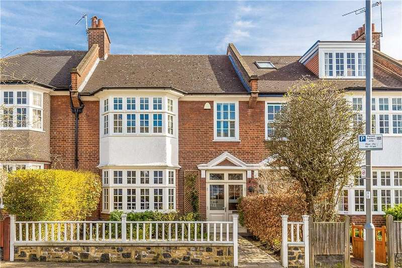 4 Bedrooms Terraced House for sale in Frewin Road, Wandsworth, SW18