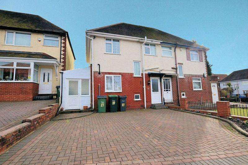 3 Bedrooms Semi Detached House for sale in Grove Road, Warley Woods Area