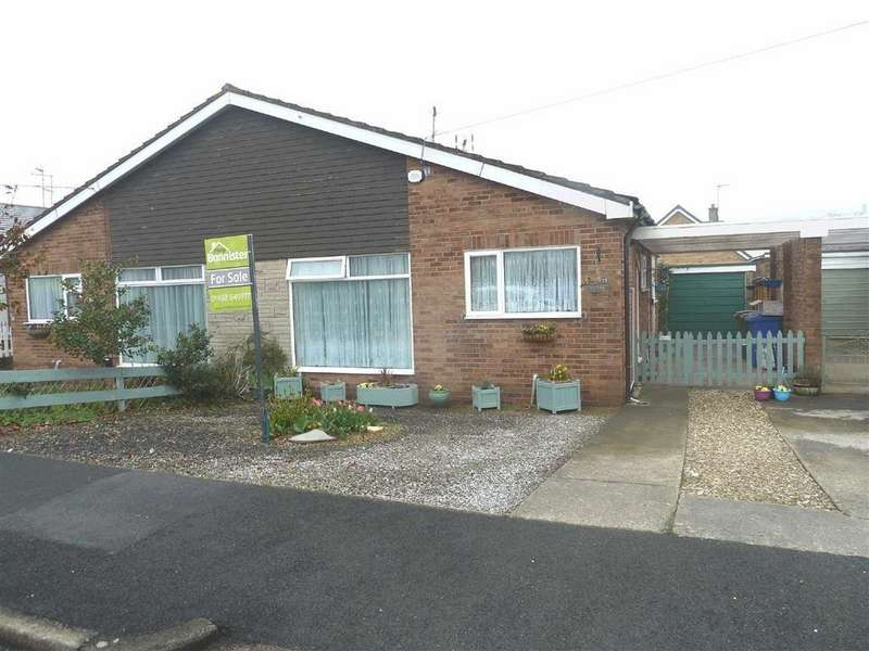 2 Bedrooms Semi Detached Bungalow for sale in Sancton Close, Cottingham, Cottingham, HU16