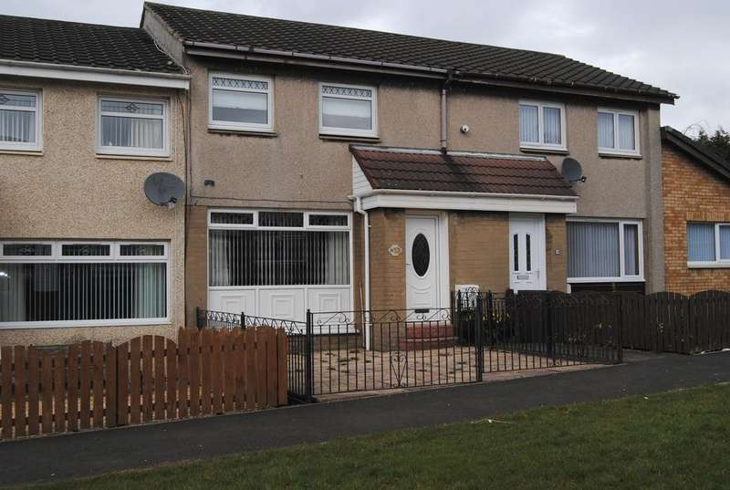 2 Bedrooms Terraced House for sale in Robert Burns Avenue, Newarthill ML1