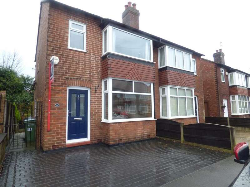 3 Bedrooms Semi Detached House for sale in Ripley Avenue, Great Moor, Stockport, SK2
