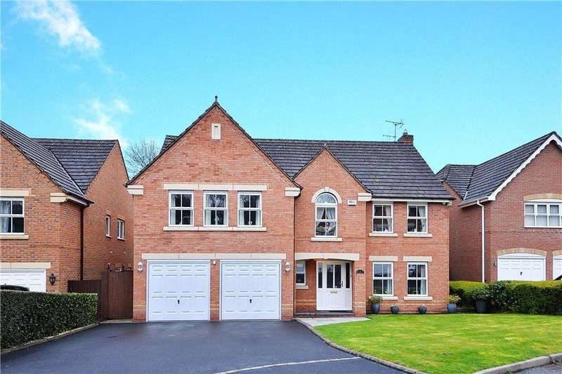 5 Bedrooms Detached House for sale in The Croft, Kidderminster, DY11
