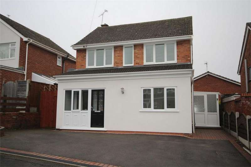 3 Bedrooms Detached House for sale in Featherstone Close, Coton, Nuneaton, Warwickshire