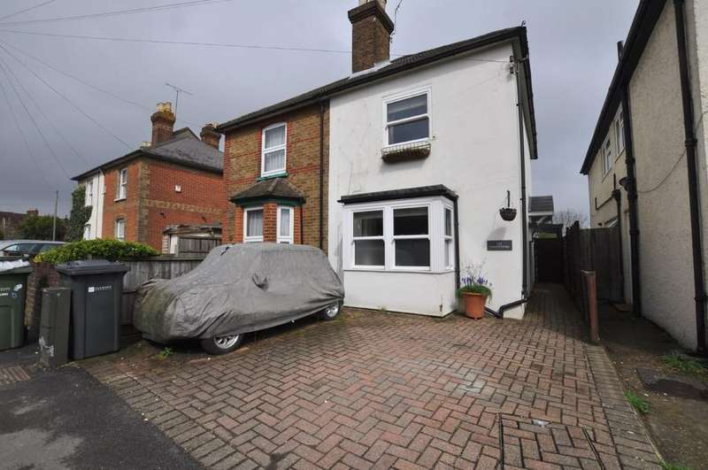 3 Bedrooms Semi Detached House for sale in Manor Road, Guildford