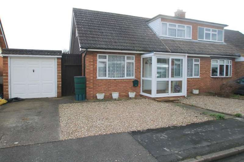 2 Bedrooms Semi Detached Bungalow for sale in Old Forge Gardens, Bierton, Aylesbury
