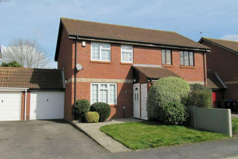 3 Bedrooms Semi Detached House for sale in Thorn Drive, George Green, Bucks, SL3 6SA - Potential to extend (STP)