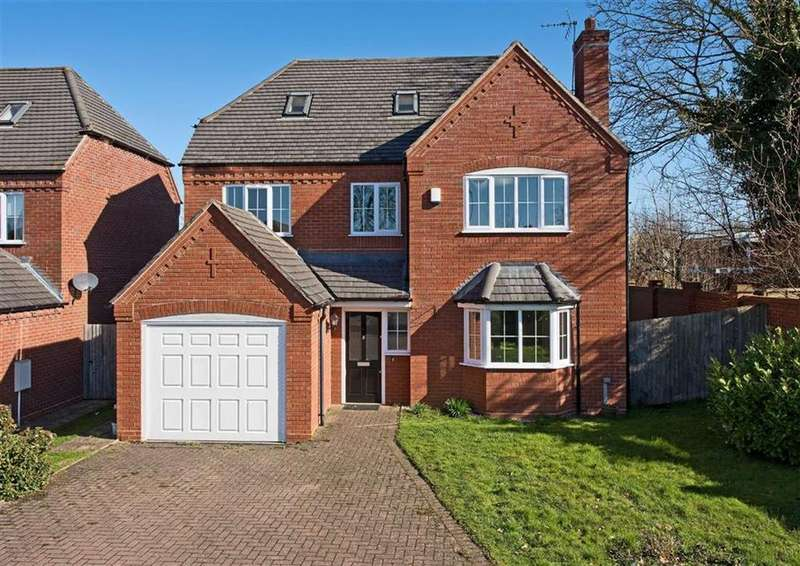 5 Bedrooms Detached House for sale in 8, Mirbeck Close, Finchfield, Wolverhampton, WV3