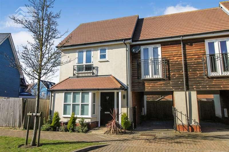 2 Bedrooms End Of Terrace House for sale in Tyhurst, Milton Keynes