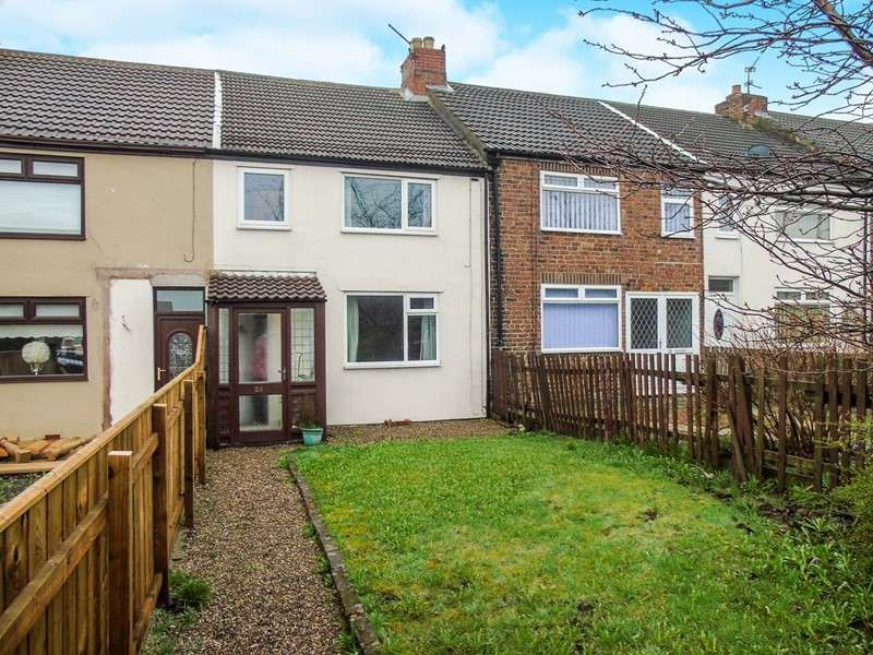 3 Bedrooms Property for sale in Milbank Terrace, Station Town, Wingate, Durham, TS28 5EF