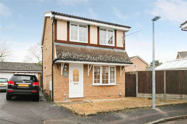 3 Bedrooms Detached House for sale in Naylor Avenue, Kempston, Bedford