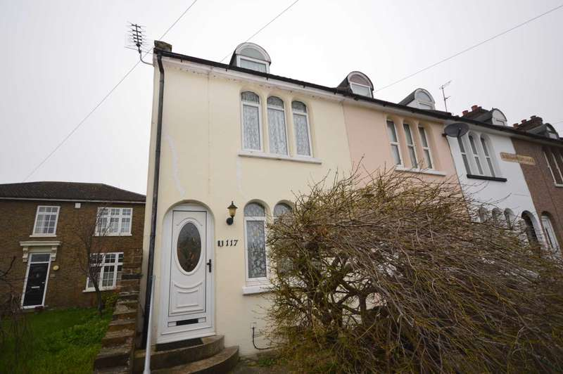 3 Bedrooms End Of Terrace House for sale in Holborough Road, Snodland