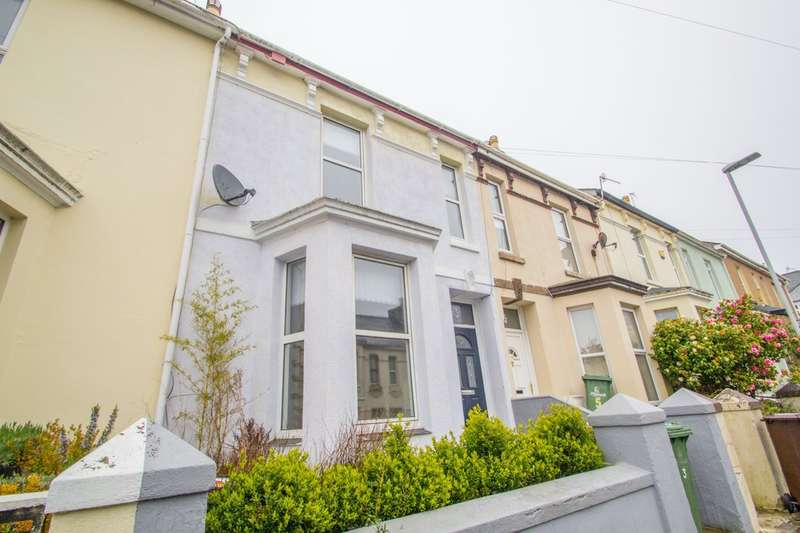 2 Bedrooms Terraced House for sale in Mutley, Plymouth