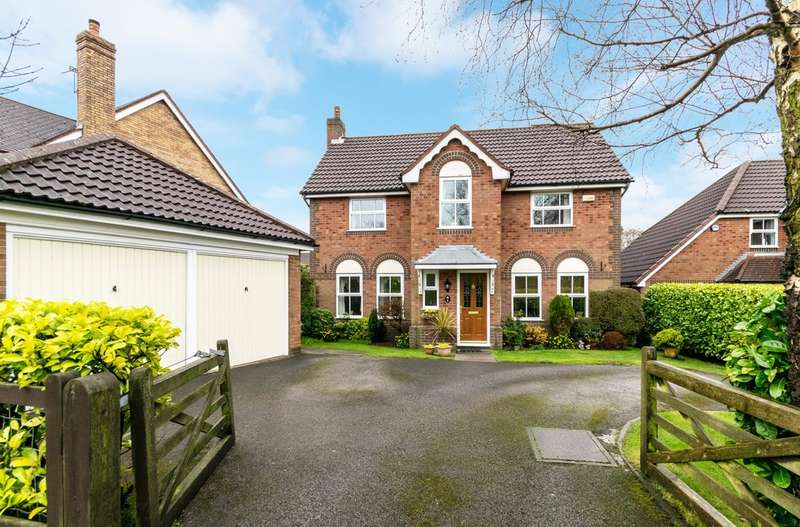 4 Bedrooms Detached House for sale in Stonehill Close, Appleton, Warrington, Cheshire
