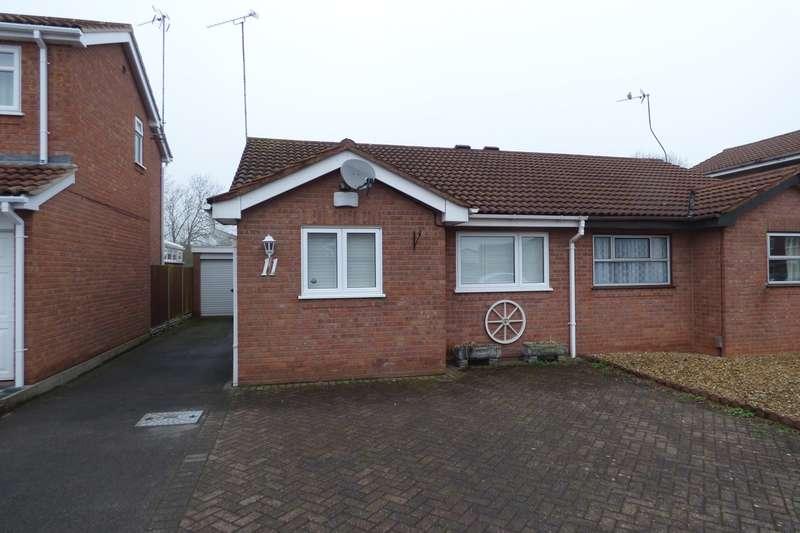 2 Bedrooms Semi Detached Bungalow for sale in Bramble Close, Whitestone, Nuneaton, CV11