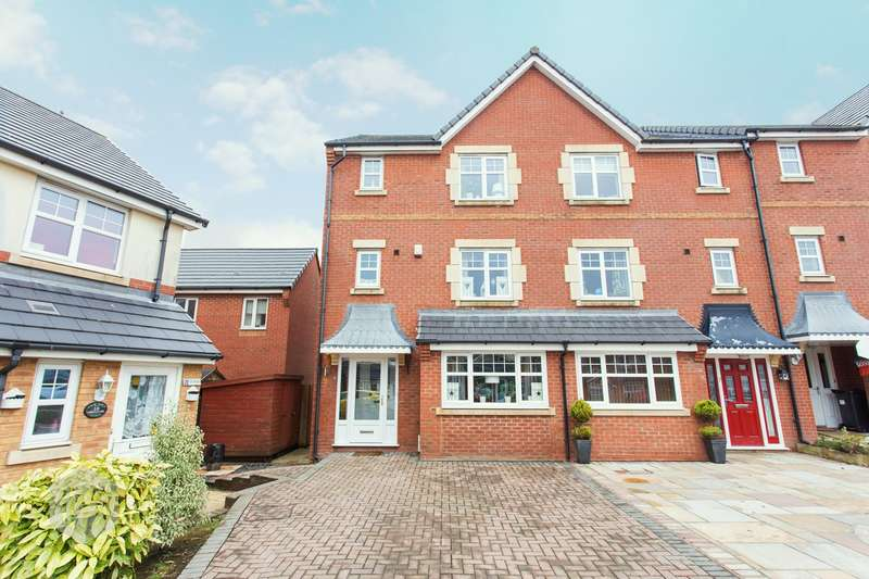 4 Bedrooms Semi Detached House for sale in Coppice Close, Lostock, Bolton, BL6