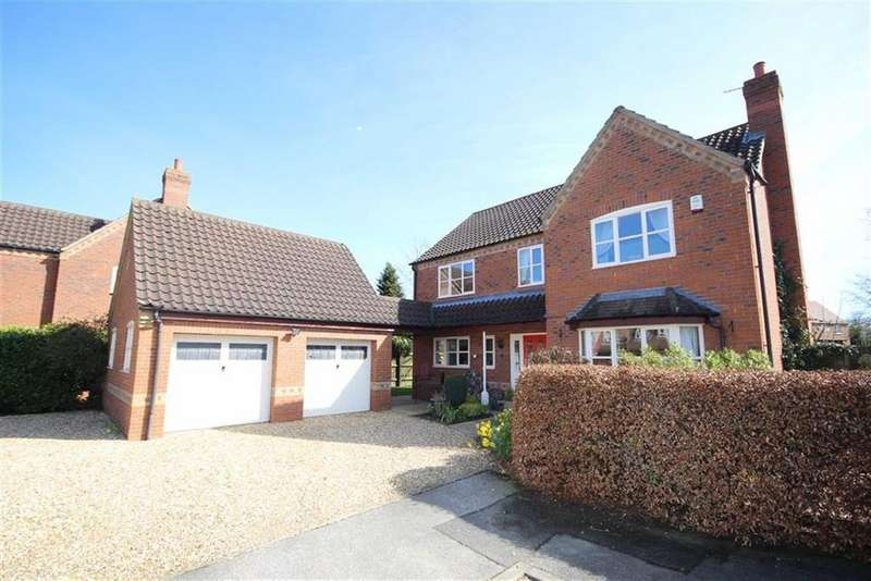4 Bedrooms Detached House for sale in Woodlands Close, Potterhanworth, Lincoln, Lincolnshire