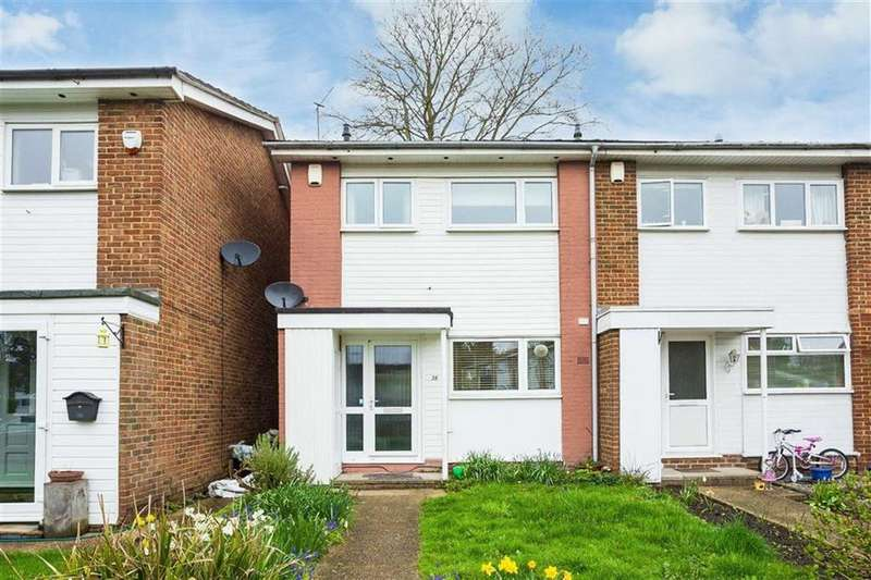 2 Bedrooms End Of Terrace House for sale in Farthings Close, Pinner, Middlesex