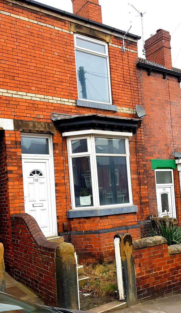 2 Bedrooms Terraced House for sale in Pitt St, Rotherham S61