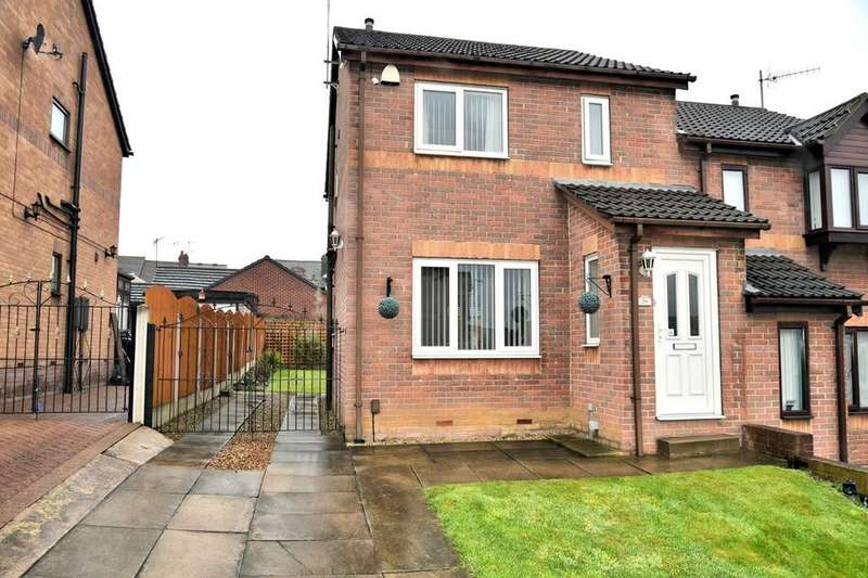 3 Bedrooms Semi Detached House for sale in Bear Tree Road, Parkgate, Rotherham
