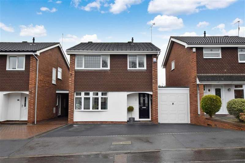 3 Bedrooms Link Detached House for sale in Welbeck Drive, Kidderminster, Worcestershire