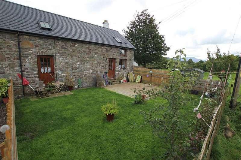 2 Bedrooms Semi Detached House for sale in Trecastle, Brecon