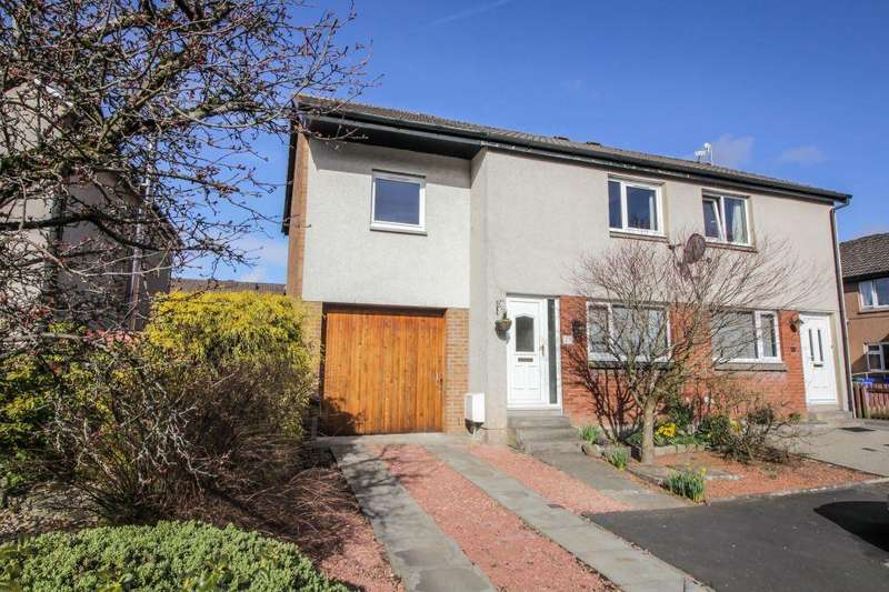 3 Bedrooms Semi Detached House for sale in 20 Wishart Drive, Stirling, FK7 7TS
