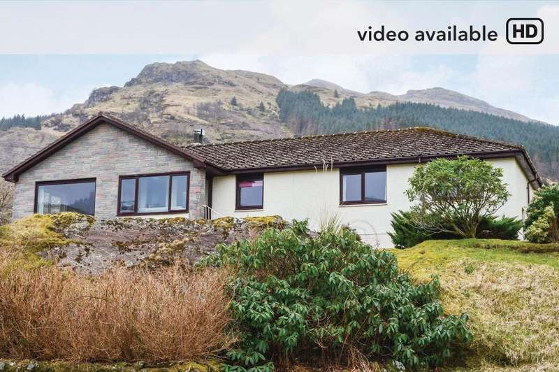 3 Bedrooms Bungalow for sale in Sachsblick, Lochgoilhead, Cairndow, PA24 8AE