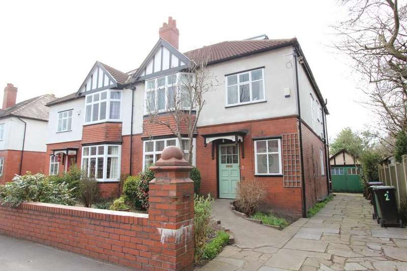 6 Bedrooms Semi Detached House for sale in Cavendish Road, Heaton Mersey