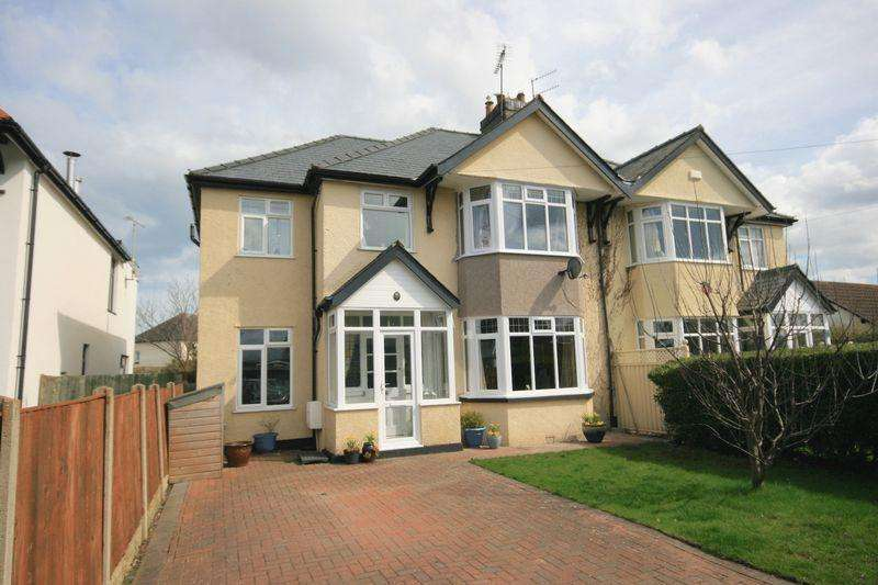 5 Bedrooms Semi Detached House for sale in Park Drive, Conwy