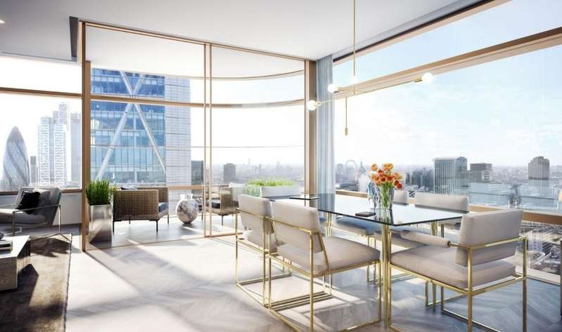 2 Bedrooms Flat for sale in Principle Tower, Worship Street, EC2A