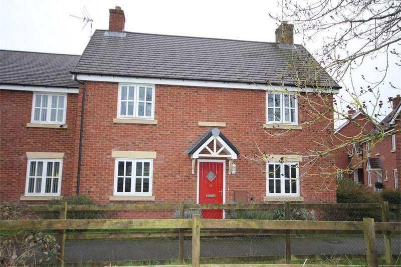 3 Bedrooms Semi Detached House for sale in Celilo Walk, Keresley, Coventry, West Midlands