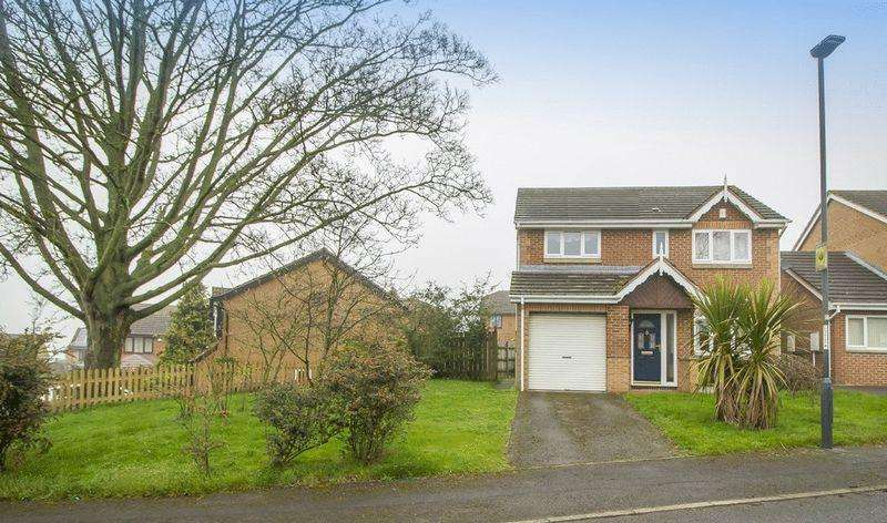 4 Bedrooms Detached House for sale in YARWELL CLOSE, DERWENT HEIGHTS