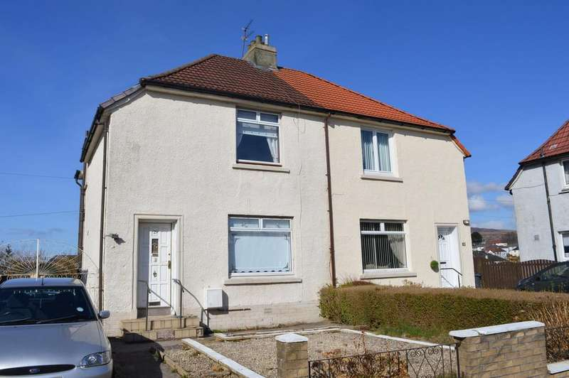 3 Bedrooms Semi Detached House for sale in Broom Drive, Clydebank G81 3JB