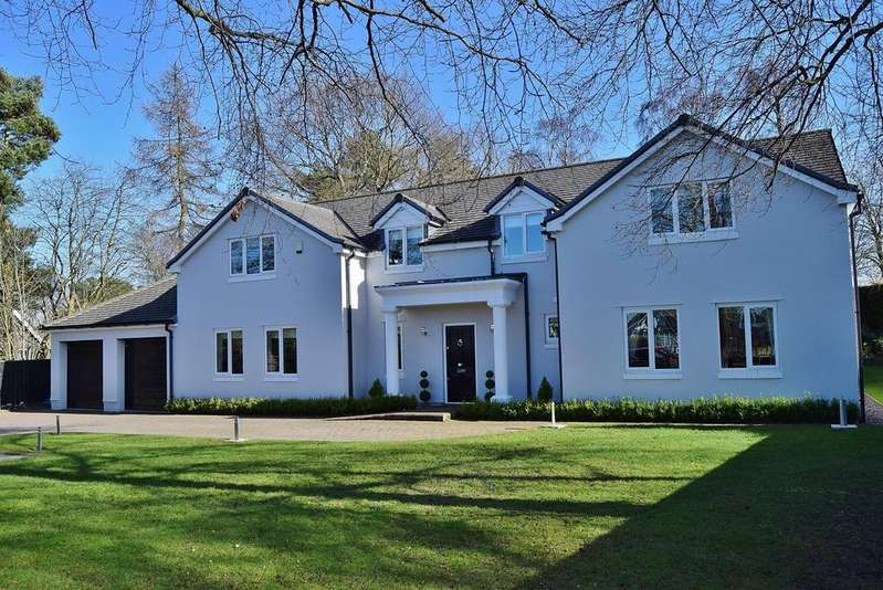 4 Bedrooms Detached House for sale in Edge Hill, Darras Hall, Ponteland, Newcastle upon Tyne, NE20