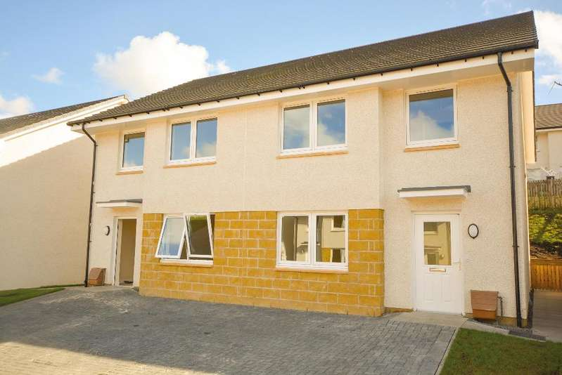 4 Bedrooms Semi Detached House for sale in 11 Dunmoss View, Coalsnaughton, Tillicoultry, FK13 6BF