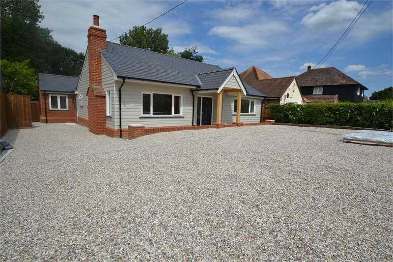 4 Bedrooms Detached Bungalow for sale in Ivy Lodge Road, Great Horkesley, Colchester, CO6