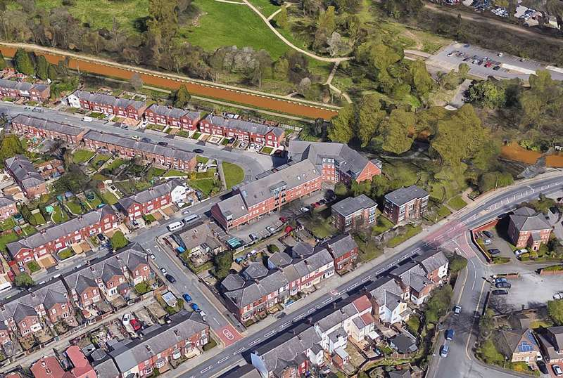 1 Bedroom Apartment Flat for sale in Bridgewater View, Anson Street, Eccles, Manchester, Greater Manchester, M30 8HH