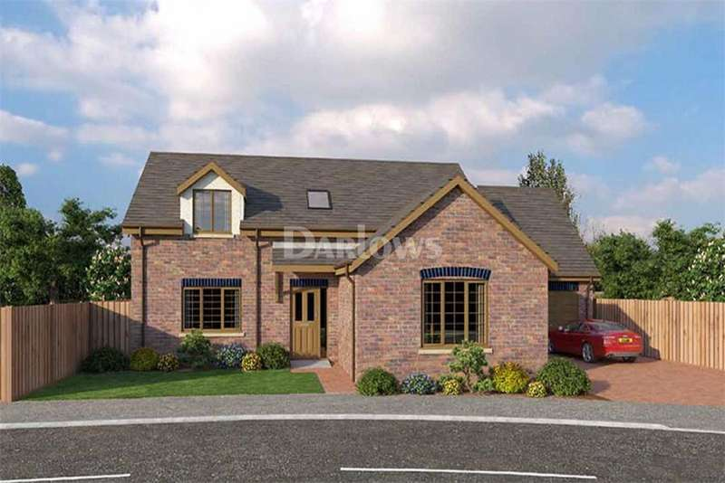 4 Bedrooms Bungalow for sale in Plot 9 Saron, Glanfryn Court